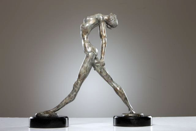 George Nock DANCER I Bronze Sculpture