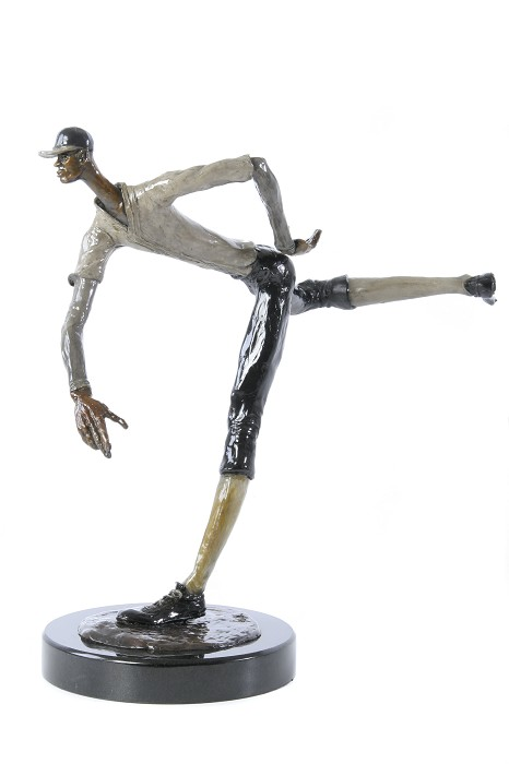 George Nock Heat Bronze Sculpture