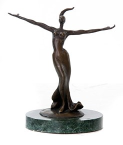 George NockMs DivaBronze Sculpture