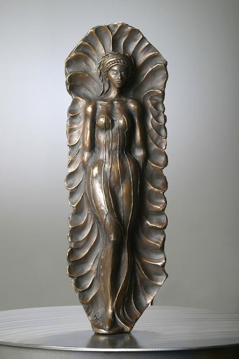 George NockPrincessBronze Sculpture