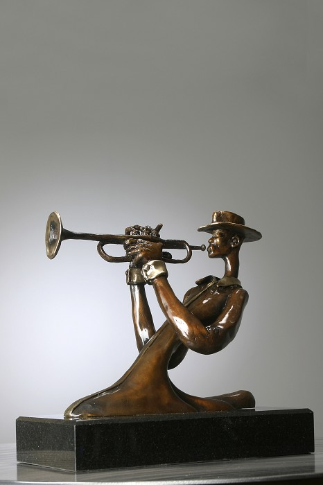 George Nock Silky Bronze Sculpture