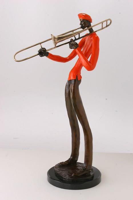 George NockSlideBronze Sculpture