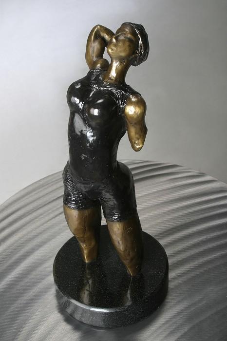 George NockThe SuitBronze Sculpture
