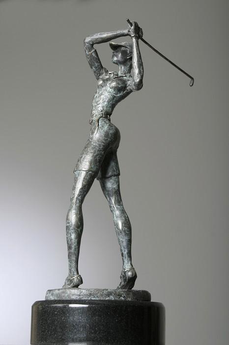 George NockSweet TeeBronze Sculpture