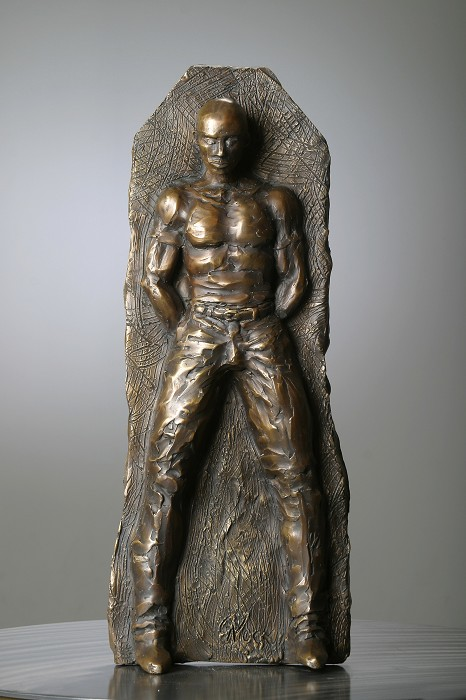 George Nock Urban Prince Bronze Sculpture