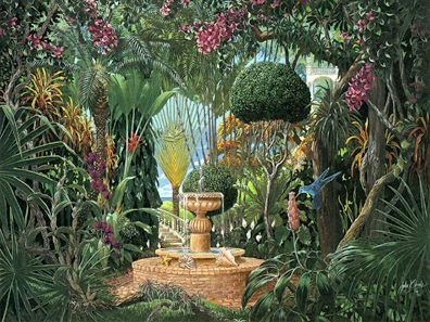 John Kiraly Key West Garden