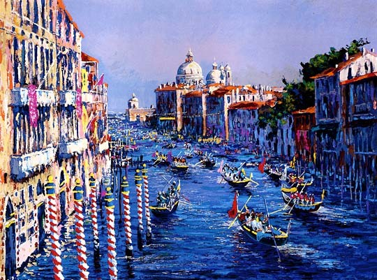 Kerry Hallam Grand Canal Venice