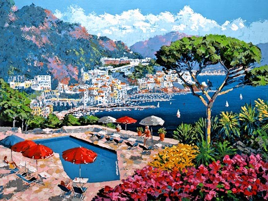 Kerry Hallam Ravello Canvas