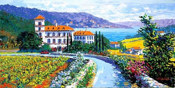 Kerry HallamAuberge Du Soleil Canvas