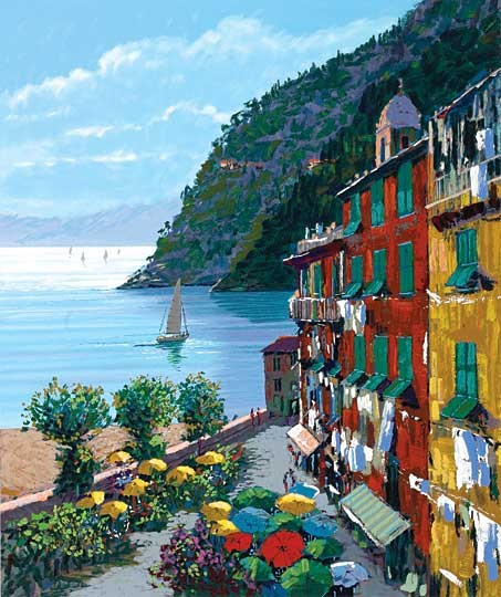 Kerry Hallam Cinqueterre Canvas