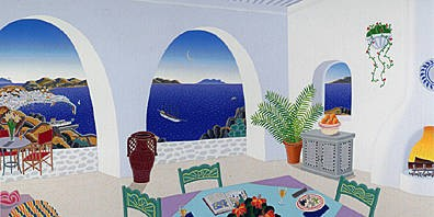 Thomas McKnight Tourlos Bay: Mykonos