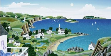 Thomas McKnight Maine Cove