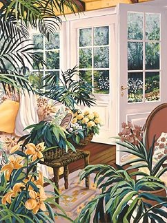 Susan Rios Morning Garden