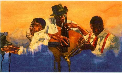 Alonzo AdamsIn The Groove