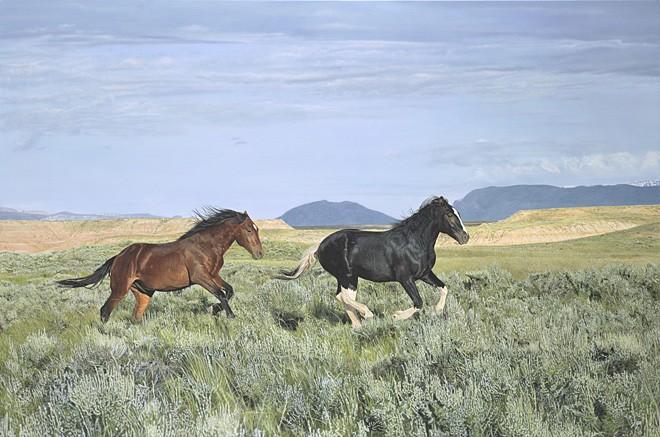John ByeWild and FreeGiclee On Canvas