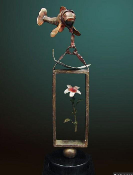 Glen TarnowskiBalance Of LoveBronze Sculpture