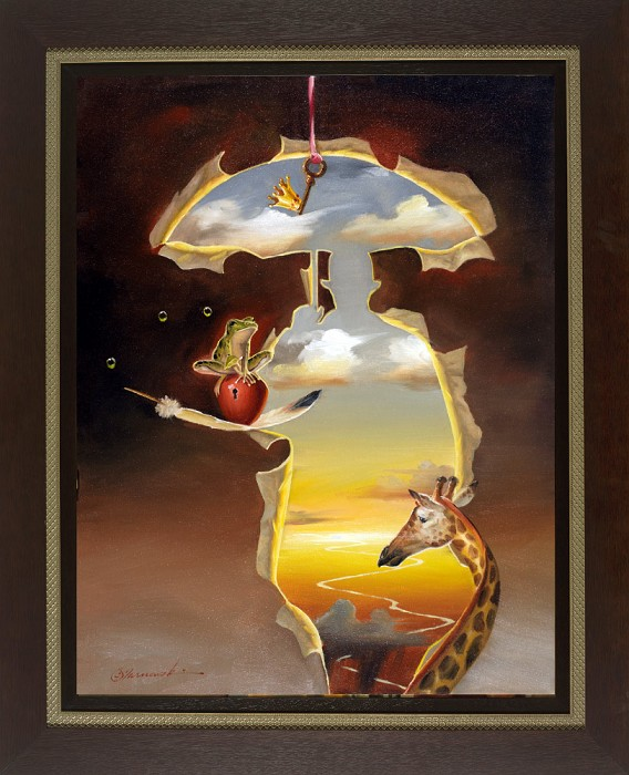 Glen Tarnowski Break Free Framed Giclee On Canvas