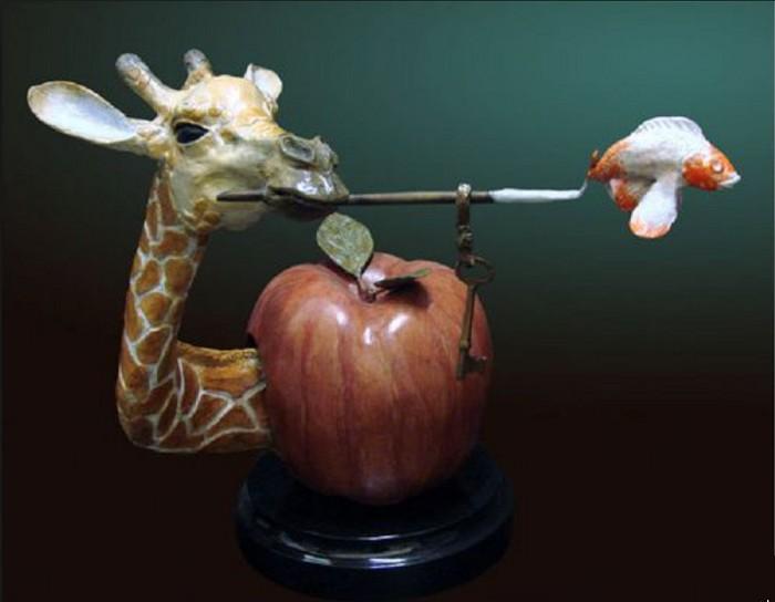 Glen TarnowskiCreative ImpulseBronze Sculpture