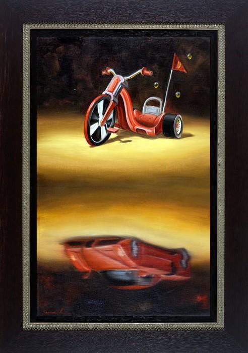 Glen TarnowskiFuture Ambition FramedGiclee On Canvas