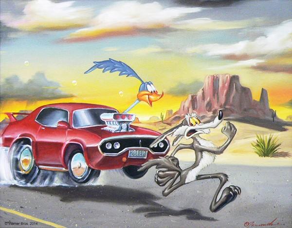Glen TarnowskiSuper-Charged Artist ProofGiclee On Canvas