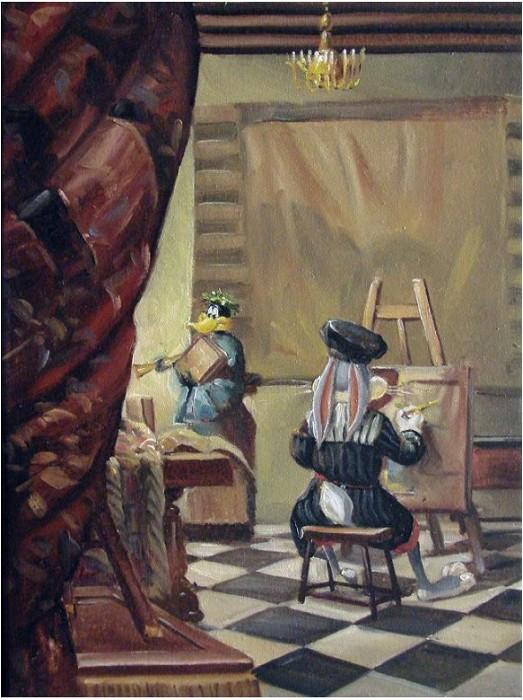 Glen TarnowskiHare-Brushed DuckGiclee On Canvas