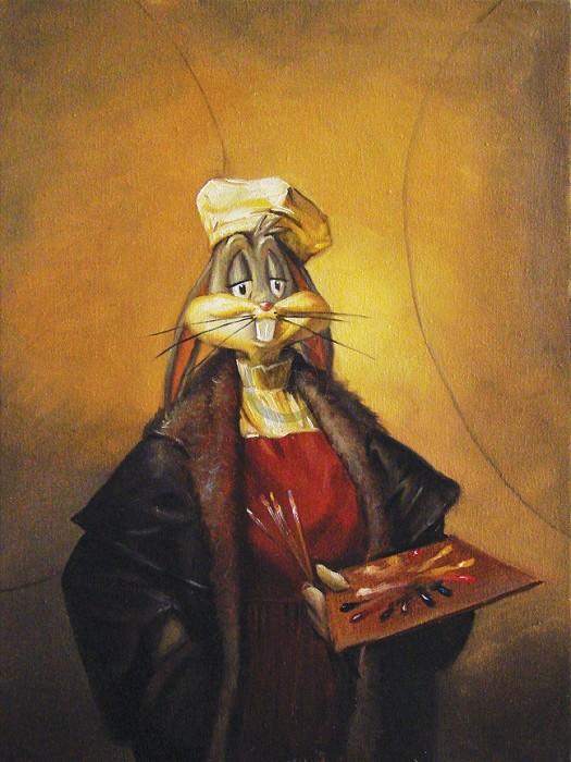 Glen Tarnowski16th Century SelfieGiclee On Canvas