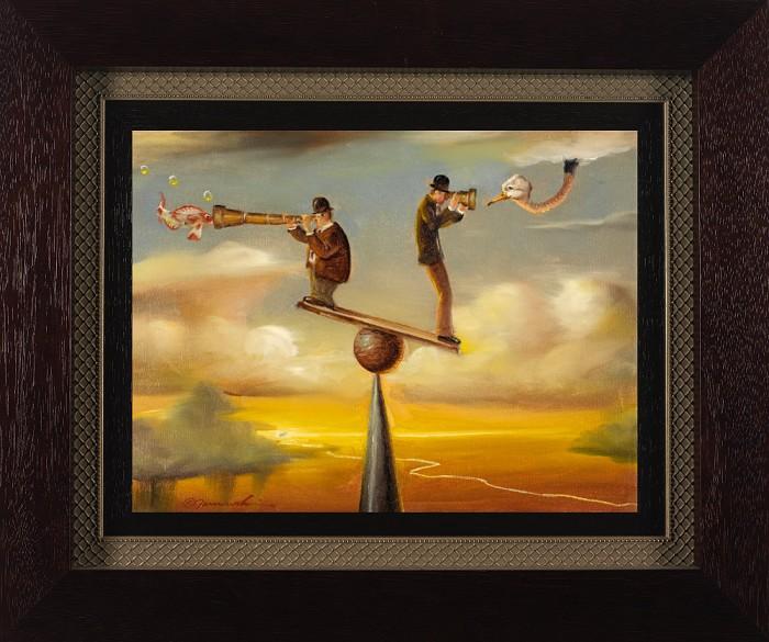 Glen TarnowskiThe Long And Short Of It FramedGiclee On Canvas