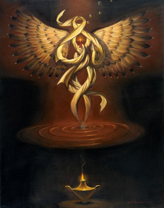 Glen TarnowskiResurrectionOriginal Oil on Canvas