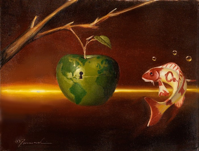 Glen Tarnowski Ripe Original Oil on Canvas
