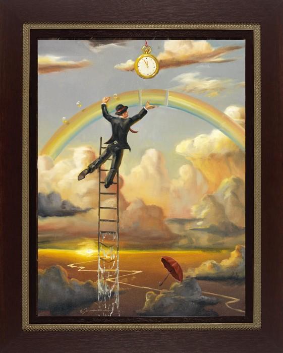 Glen TarnowskiTime for Action FramedGiclee On Canvas