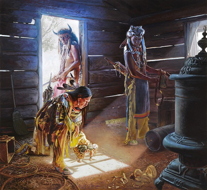 David YorkeAbandonedGiclee On Canvas