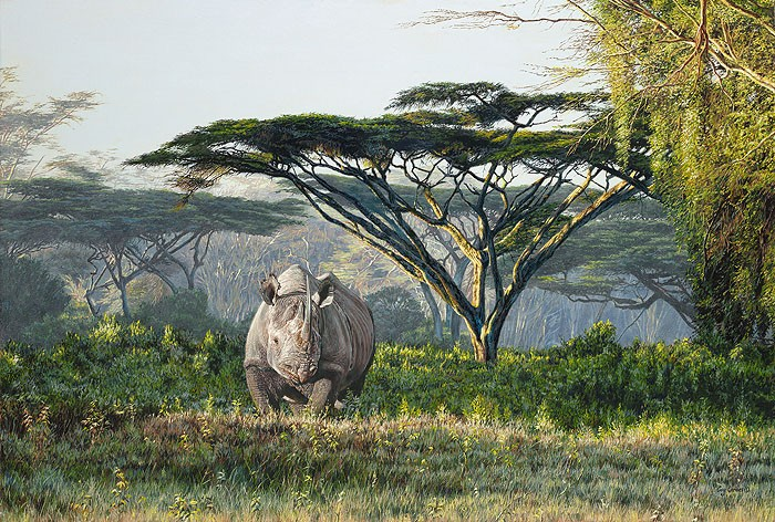 Guy Combes Anguruok Giclee On Canvas