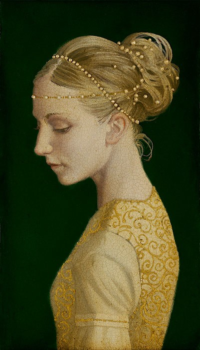 James Christensen Betrothed Giclee On Canvas