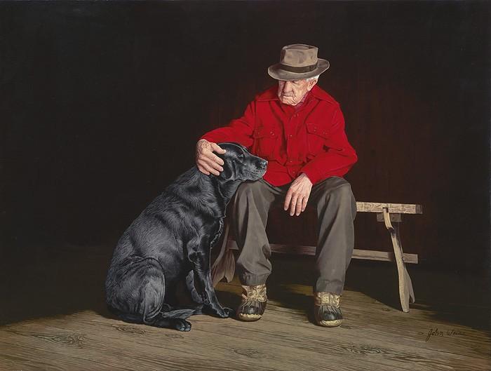 John WeissForever FriendsGiclee On Canvas