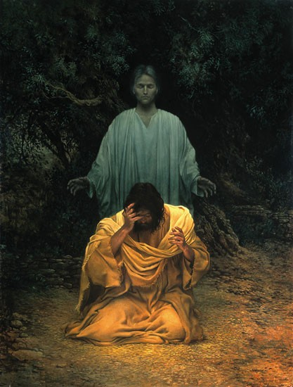James Christensen GETHSEMANE-LARGE Lithograph