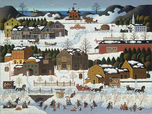 Charles WysockiHickoryhaven Canal MASTERWORK ANNIVERSARY EDITIONGiclee On Canvas