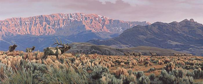 Rod FrederickHOMELAND CHALLENGEGiclee On Canvas