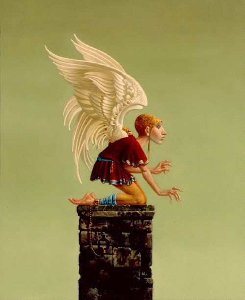 James Christensen ICARUS BOUND Lithograph