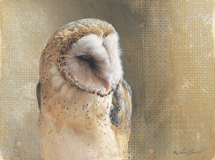 Andrew DenmanMinervaGiclee On Canvas