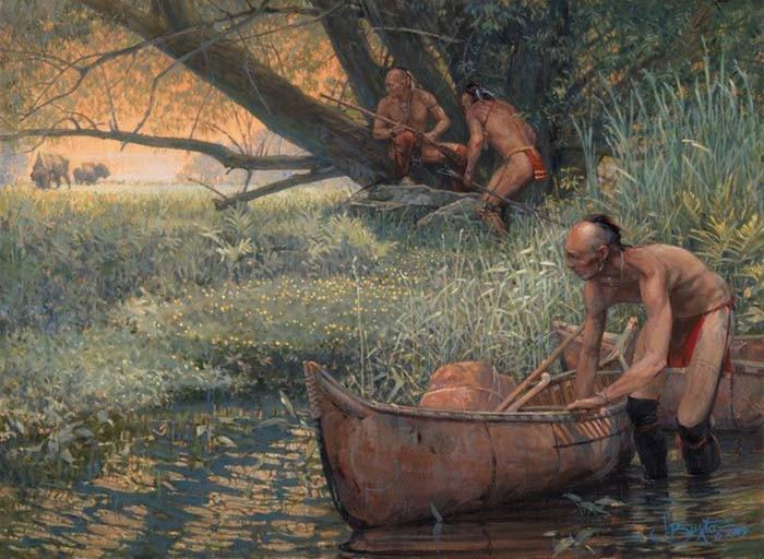 John BuxtonA RARE SIGHTINGGiclee On Canvas