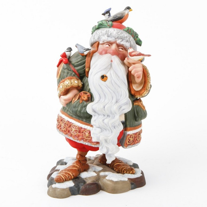 James Christensen Santas Other Helpers Porcelain Sculpture