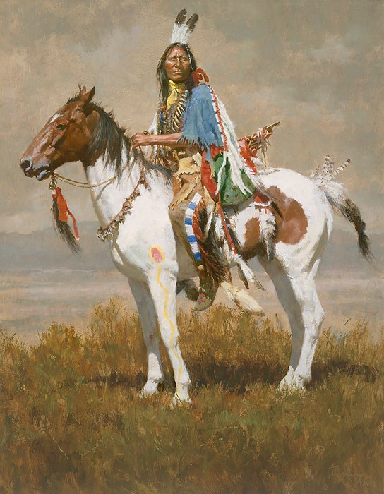 Howard Terpning SPIRIT OF THE PLAINS Giclee On Paper Artist Proof