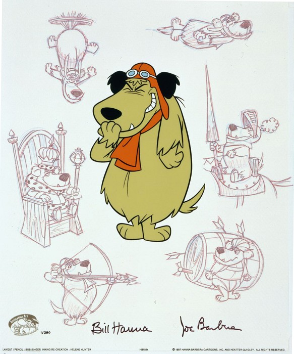 Hanna & Barbera Mutley Persona Hand-Painted Limited Edition Cel