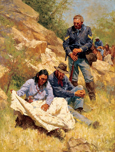 Howard Terpning WAR STORIES Lithograph