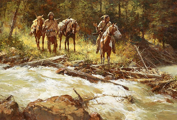 Howard Terpning Broken Trail Canvas
