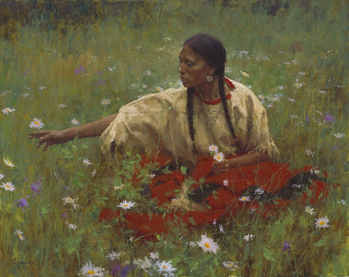 Howard TerpningBeauty in the FieldGiclee On Canvas