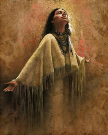 Lee Bogle Into The Light Artist Proof Hand Enhanced Giclee On Canvas