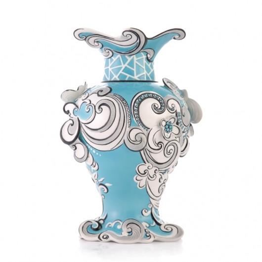 Franz PorcelainVase, Joyful Blessings
