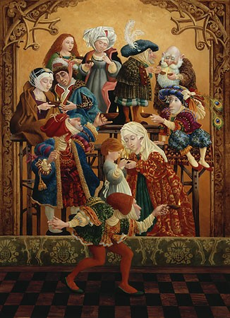 James Christensen Sharing Our Light Limited Edition Canvas