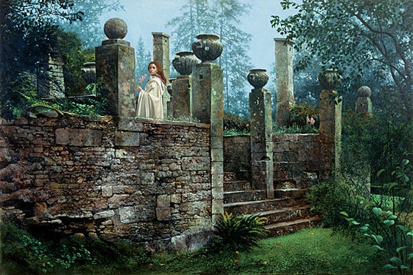 James Christensen Garden Rendezvous Limited Edition Print